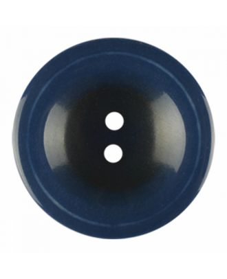 polyester button round shape with shiny surface and 2 holes - Size: 18mm - Color: navy blue - Art.-Nr.: 316816