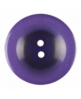 polyester button round shape with shiny surface and 2 holes - Size: 23mm - Color: purple - Art.-Nr.: 346841