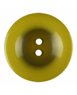 polyester button round shape with shiny surface and 2 holes - Size: 18mm - Color: light green - Art.-Nr.: 316818