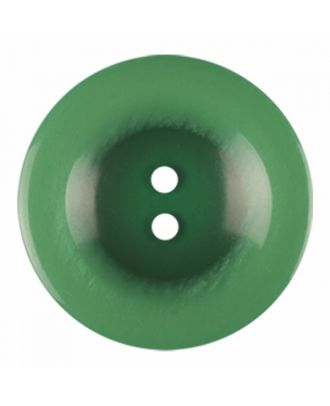 polyester button round shape with shiny surface and 2 holes - Size: 23mm - Color: light green - Art.-Nr.: 346843