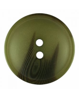 polyester button round shape with matt surface and structure 2 holes - Size: 30mm - Color: light green - Art.-Nr.: 386817
