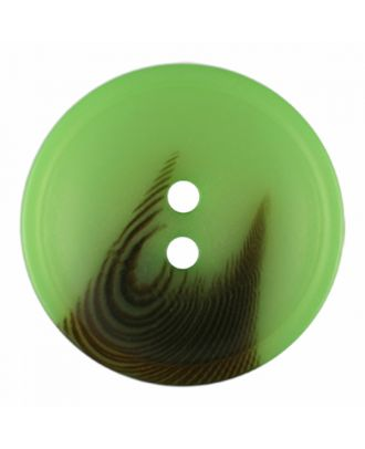 polyester button round shape with matt surface and structure 2 holes - Size: 30mm - Color: light green - Art.-Nr.: 386818