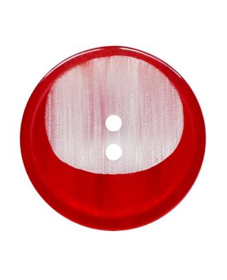 polyester button round shape with 2 holes - Size: 18mm - Color: rot - Art.No.: 312020