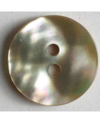 shell button - Size: 18mm - Color: beige - Art.No. 380140