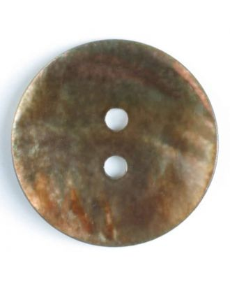 natural pearl button - Size: 13mm - Color: brown - Art.-Nr.: 241181