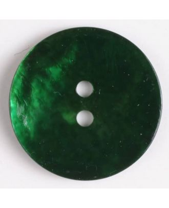 natural pearl button - Size: 23mm - Color: green - Art.-Nr.: 360482