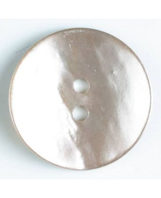 natural pearl button - Size: 13mm - Color: pink - Art.-Nr.: 241193