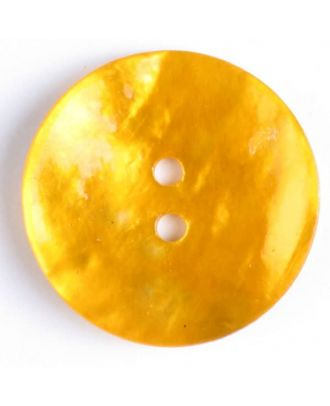 natural pearl button - Size: 23mm - Color: yellow - Art.-Nr.: 360390