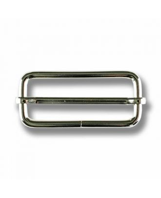 belt buckle - Size: 40mm - Color: silver - Art.No. 420088