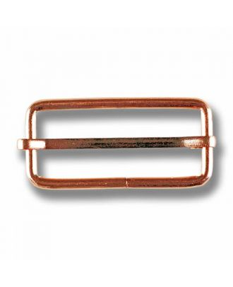 belt buckle - Size: 40mm - Color: rose gold - Art.No. 420089