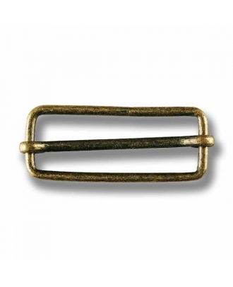 belt buckle - Size: 40mm - Color: antique brass - Art.No. 420090