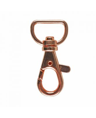 carabiner - Size: 16mm - Color: rose gold - Art.No. 370875